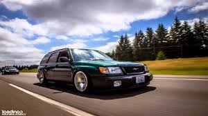 stanced subaru subaru forester 2005 slammed wallpaper 1280x720 23801
