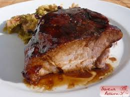 cuisiner une rouelle de porc rouelle de porc façon thanksgiving ham saveur