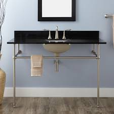 carrara marble console sink 48 art deco undermount console sink consoles sinks and art deco
