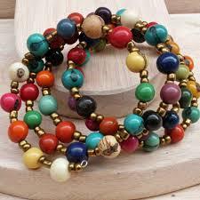 colored bead bracelet images Multi color bracelet with acai jpg