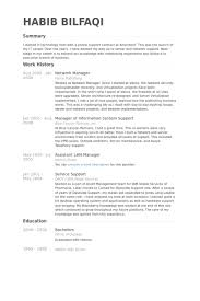 Network Security Resume Sample by Network Manager Resume Samples Visualcv Resume Samples Database