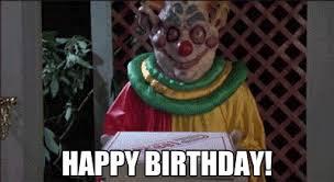 Happy Birthday Meme Gif - happy birthday clowns gif on imgur