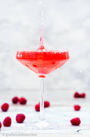 martini champagne rose raspberry peach champagne cocktail a mother u0027s day cocktail