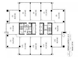 layout denah cafe jual ruang kantor baru di gedung its office tower pasar minggu