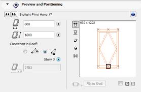 skylight tool settings help center archicad bimx bim server