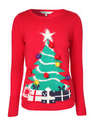 christmas tree sweater with lights womens flashing lights christmas tree jumper peacocks