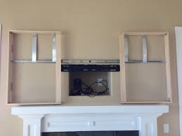 wall mounted tv hiding cables best 25 hide tv ideas on pinterest tv above fireplace tv above