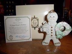 lenox annual 2011 gingerbread ornament special spiced delivery