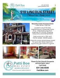 510 lincoln santa cruz real estate luxury beach homes for sale