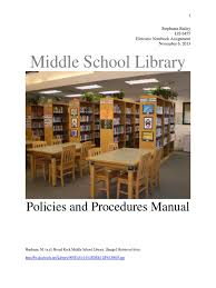 media center handbook libraries library