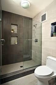 Open Showers No Doors Open Showers Los Angeles In Small Bathrooms Shower Design