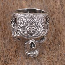 ceramic skeleton ring holder images Mexican day of the dead at novica jpg