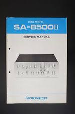 pioneer sa 7500 mk ii stereo integrated amplifier ebay