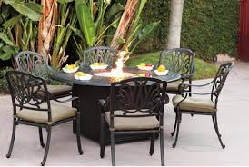 large propane fire pit table fire pit table propane set outdoor dining with seating sets