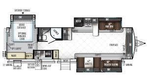 rockwood signature ultra lite 8324bs travel trailer floor plan