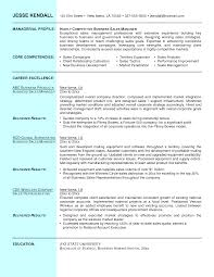 sales manager resume objective sample general resume examples of