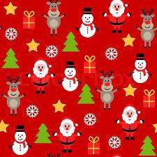 christmas pattern seamless christmas pattern stock vector colourbox