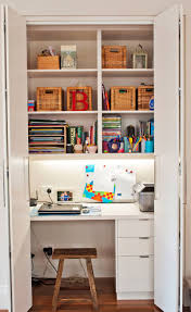 Small Apartment by Small Apartment Design Idea Create A Home Office In A Closet