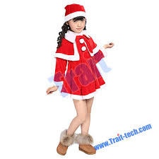 christmas suit kid santa claus suit and dress boy and girl sleeve christmas