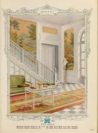 1930 Home Interior by 1949 Colonial Living Room By American Vintage Home Via Flickr