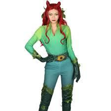 Poison Ivy Womens Halloween Costumes Poison Ivy Costume Batman U0026 Robin Cosplay U2013 Xcoser Costume