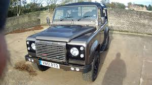 land rover defender convertible for sale land rover defender 90 td5 soft top for sale walkaround youtube