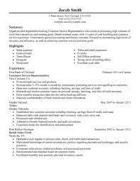 resume for customer service sle of resume for customer service representative unforgettable
