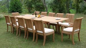 Teak Patio Dining Table Charming Large Outdoor Wicker Patio Furniture Restoring Set