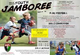 Flag Football Plays 7 On 7 Eafl End Of Season Youth Jamboree
