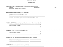 Fillable Resume Download Fill In Resume Haadyaooverbayresort Com