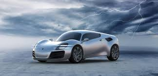 electric sports cars porsche presented its plan about making a future electric sports