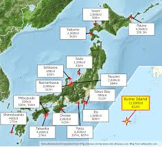 Okinawa Map Water Uses