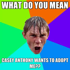 What Does Meme Mean And How Do You Pronounce It - what do you mean casey anthony wants to adopt me create meme