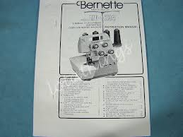 bernina bernette over lock model mo 234 serger overlocker sewing