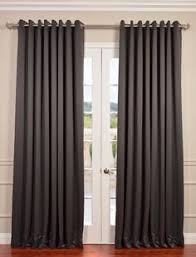 Grommet Blackout Drapes Aurora Home Silver Grommet Top Thermal Insulated 96 Inch Blackout