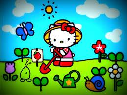 hello kitty summer wallpapers pack 336 hello kitty summer desktop