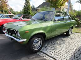 green opal car car show outtakes 1974 opel ascona a and 1977 opel kadett c