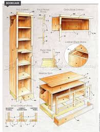 Furniture Plans Bookcase by Built In Bookcase Plans U2022 Woodarchivist