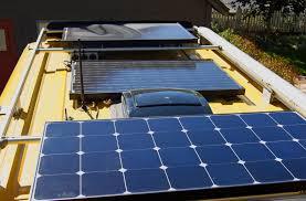 solar panels on roof keep your sunnyside up winnebagolife