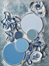 coastal paint color schemes inspired from the beach blue grey