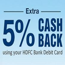 get 5 cashback on purchase bank credit card offers 5 back at snapdeal