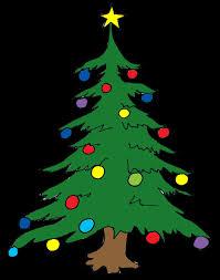 printable christmas tree clipart 2099483