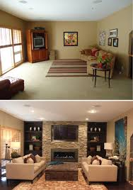 michele hybner omaha magazine before after of the great room