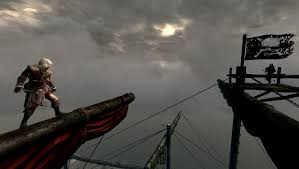 Picture Of A Pirate Flag Pirates Of Skyrim The Northern Cardinal Under The Black Flag