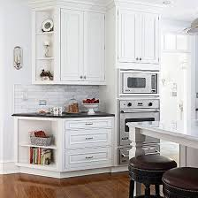 end of kitchen cabinet ideas angled end of the wall cabinets guild towards the