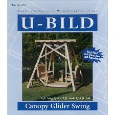 Lowes Floor Plans by Shop U Bild Canopy Glider Swing Woodworking Plan At Lowes Com