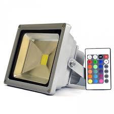 50 watt led flood light 20w 20 watt rgb colour changing led floodlight remote controller