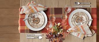 thanksgiving table 4 ways pottery barn
