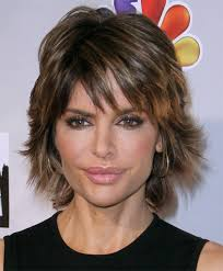 what is the texture of rinnas hair lisa rinna haircut sexy layered razor cut for thick hair sharp