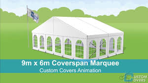 tent building how to build a marquee custom covers animation youtube